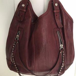 Via Republica Studded Zipper Purse (Leather)